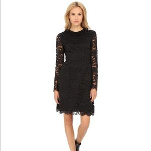 Marc by Marc Jacobs Black Isabella Lace Dress NWOT